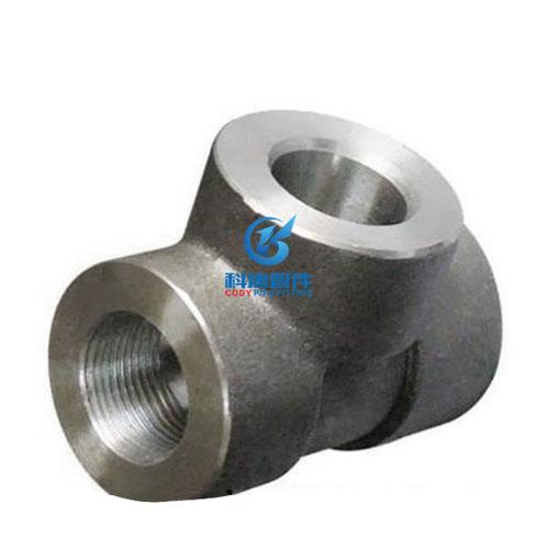 不锈钢承插焊内丝三通