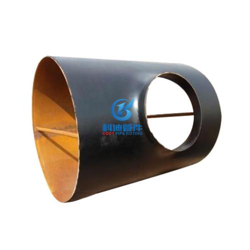 大口径碳钢对焊三通